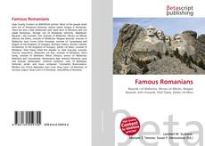 Bookcover of Famous Romanians