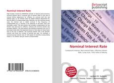 Bookcover of Nominal Interest Rate