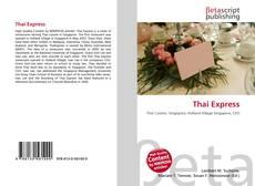 Portada del libro de Thai Express