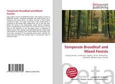 Couverture de Temperate Broadleaf and Mixed Forests