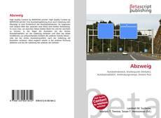 Capa do livro de Abzweig