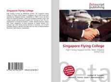 Bookcover of Singapore Flying College