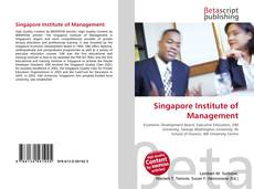 Bookcover of Singapore Institute of Management