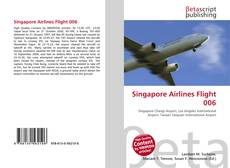 Singapore Airlines Flight 006 kitap kapağı