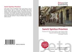 Bookcover of Sancti Spíritus Province