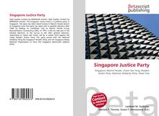 Bookcover of Singapore Justice Party