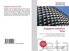 Capa do livro de Singapore Literature Prize