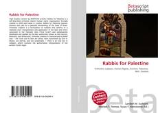 Bookcover of Rabbis for Palestine