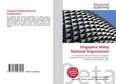 Bookcover of Singapore Malay National Organisation