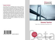 Saane/ Sarine kitap kapağı