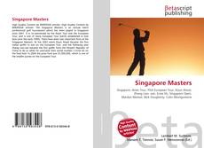 Bookcover of Singapore Masters