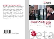 Singapore Area Licensing Scheme kitap kapağı