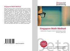 Bookcover of Singapore Math Method