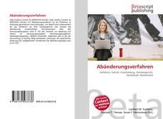 Bookcover of Abänderungsverfahren