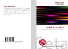 Capa do livro de Sahil, Azerbaijan