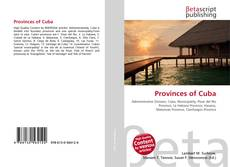 Couverture de Provinces of Cuba