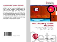 Bookcover of Wild Strawberry Student  Movement