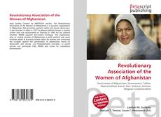 Buchcover von Revolutionary Association of the Women of Afghanistan