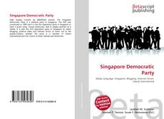 Bookcover of Singapore Democratic Party