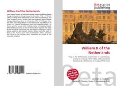 Bookcover of William II of the Netherlands