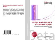 Borítókép a  Sahitya Akademi Award to Assamese Writers - hoz