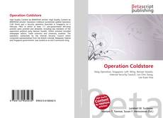 Buchcover von Operation Coldstore