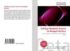 Borítókép a  Sahitya Akademi Award to Bengali Writers - hoz