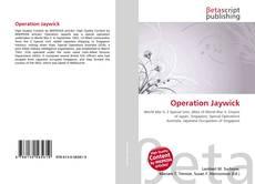 Capa do livro de Operation Jaywick