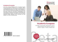 Bookcover of Academia Europaea