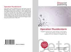 Borítókép a  Operation Thunderstorm - hoz