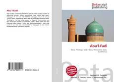 Capa do livro de Abu'l-Fadl
