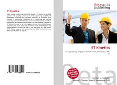 Bookcover of ST Kinetics