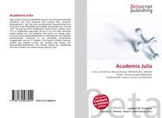 Обложка Academia Julia