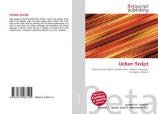 Bookcover of Uchen Script