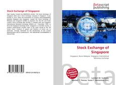 Bookcover of Stock Exchange of Singapore