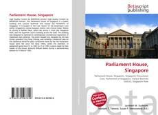 Bookcover of Parliament House, Singapore