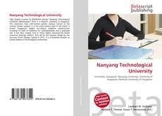 Couverture de Nanyang Technological University