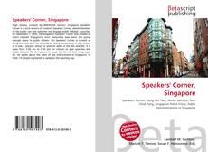 Bookcover of Speakers' Corner, Singapore