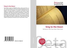 Capa do livro de Sing to the Dawn