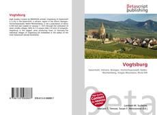 Vogtsburg kitap kapağı