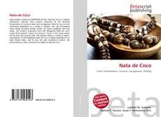 Capa do livro de Nata de Coco