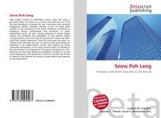 Portada del libro de Seow Poh Leng