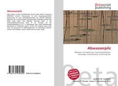 Bookcover of Abwasserpilz