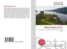 Oban Saints A.F.C. kitap kapağı