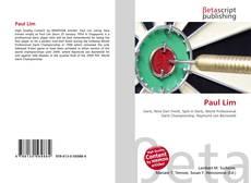 Bookcover of Paul Lim