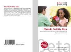 Bookcover of Obando Fertility Rites