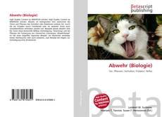 Abwehr (Biologie)的封面