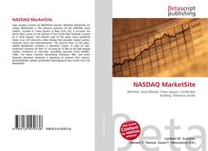 Bookcover of NASDAQ MarketSite