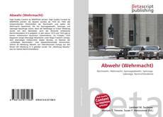 Обложка Abwehr (Wehrmacht)