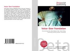 Bookcover of Voice- Over Translation